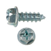 SLOTTED/PHILLIP HEX WASHER AB TAPPING SCREW ZINC PLATTED