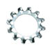 EXTERNAL TOOTH LOCK WASHER ZINC PLATED