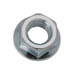 HEX FLANGE NUT WITH SERATIONS ZINC PLATED