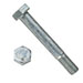 GRADE 2 HEX CAP SCREW HOT DIP GALVANIZED