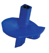 SOLID SQUARE HUB SINGLE HELIX POWER DRIVEN ANCHOR