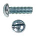 SLOTTED ROUND HEAD MACHINE SCREW ZINC PLATED