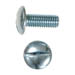 SLOTTED TRUSS HEAD MACHINE SCREW ZINC PLATED