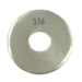 TYPE #316 STAINLESS STEEL FLAT WASHER