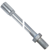 ANCHOR ROD AND COUPLING NUT ASSEMBLIES FOR HELICAL HUB ANCHORS