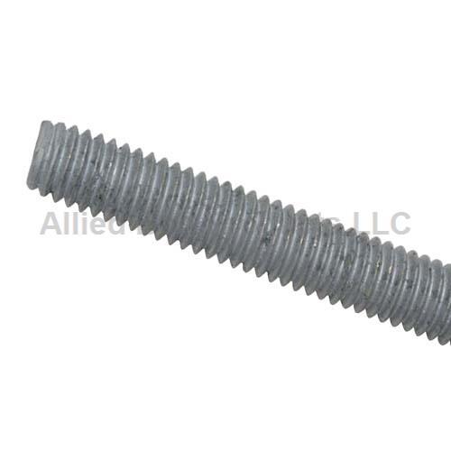5 3//4-10 x 3/'  Hot Dipped Galvanized Threaded Rod