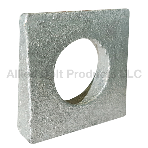 5 8 Quot Square Beveled Washer Allied Bolt Products Llc